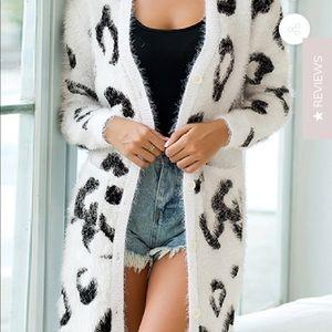*New* Goodnight macaroon Benji leopard Cardigan